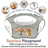 Pawaboo Small Animals Playpen, Breathable