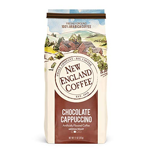 New England Coffee Chocolate Cappuccino, 11 Ounce ()