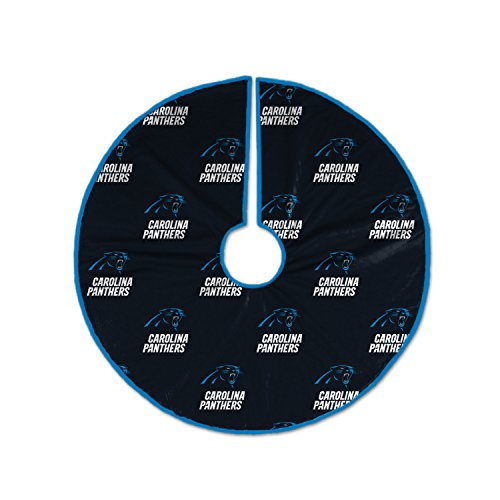 Pegasus Sports NFL Carolina Panthers Christmas Tree Skirt