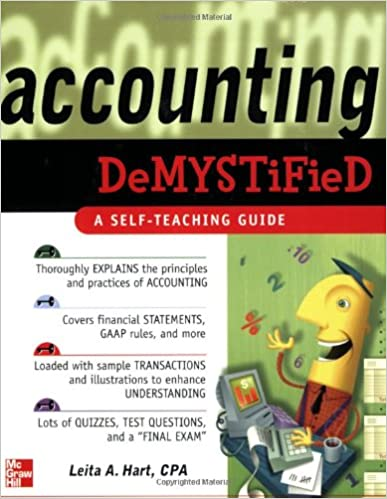Amazon accounting demystified a self teaching guide accounting demystified a self teaching guide 1st edition fandeluxe Choice Image