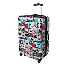 Atlantic Canadiana 28-Inch Expandable Hardside Spinner Luggage, Multi, Checked-Large