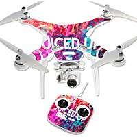 Skin For DJI Phantom 3 Standard – Juiced Up | MightySkins Protective, Durable, and Unique Vinyl Decal wrap cover | Easy To Apply, Remove, and Change Styles | Made in the USA