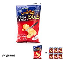 Chips Oman Chilli Flavour Large size (97 grams)