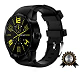 BRIGADA SIM Smart Watch for Men, Cool Fashion Smart Watch for Android iphone, Best Innovative Smartwatch Combining Traditional Watch's Beauty with Modern Functions Like Exercise Track