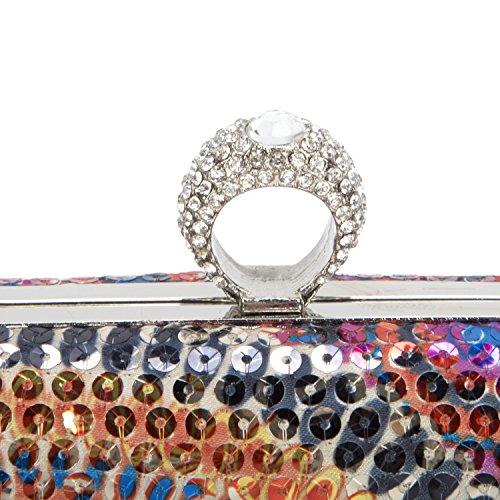 Clutch Purse Wedding Bridesmaid Woman Bridal Bag Bag Evening Sequins Vesia Colorful Party Handbags For vzxa4