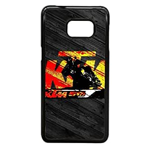 Samsung Galaxy S6 Edge Plus Cell Phone Case Black Ktm Racing Logo Custom Case Cover A11A574885