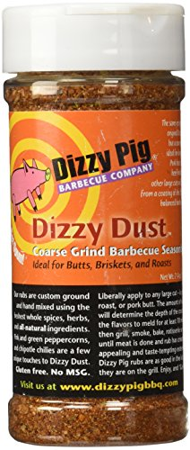 Dizzy Pig, Seasoning Barbecue Coarse Grind, 8 Ounce