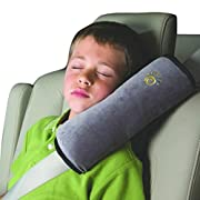 Ikevan Baby Children Safety Strap Car Seat Belts Pillow Shoulder Protection (A)