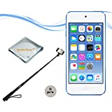 Apple 16GB iPod Touch (6th Generation), Blue with Monopod and