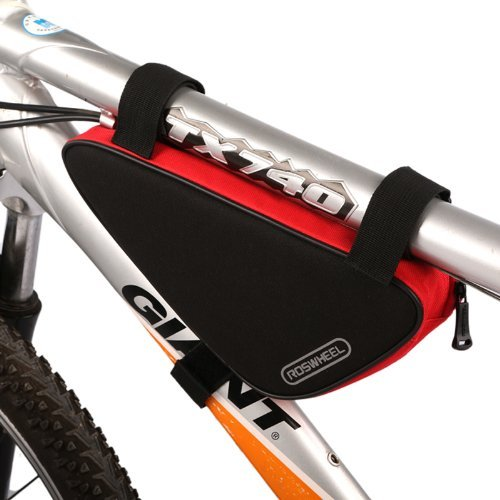 New Cycling Bicycle Bike Bag Top Tube Triangle Bag Front Saddle Frame Pouch Outdoor