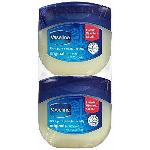 Vaseline 100% Pure Petroleum Jelly (13 Oz, 2 Pack) -