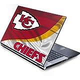 Skinit Protective Skin (fits latest Generic 15-Inch Laptop/Netbook/Notebook); NFL Kansas City Chiefs Logo