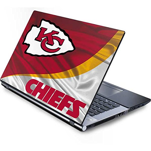 Skinit Protective Skin (fits latest Generic 15-Inch Laptop/Netbook/Notebook); NFL Kansas City Chiefs Logo