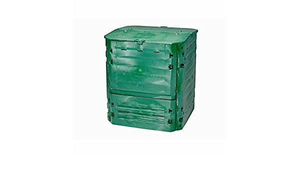 Graf compostador thermo de King 600L verde: Amazon.es: Bricolaje y ...