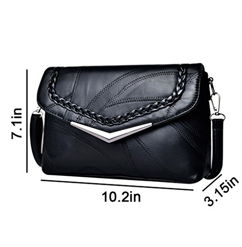 Women Messenger Shoulder Leather Tote Purse Crossbody Clutch Hossty Handbag Bag PU B 7HfZxfdAwq
