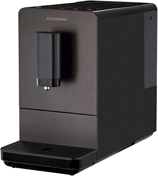 Grundig KVA 4830 - Cafetera automática, frontal de acero ...