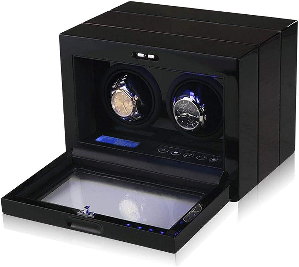 Caja Relojes Automaticos Mecánico Reloj Hogar Caja de Reloj de Cuerda automática Mesa giratoria Mesa oscilante Swinger