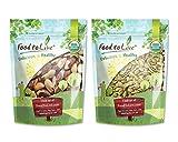 Organic Nuts Bundle with Organic Brazil Nuts, 1 Pound and Organic Pepitas/Pumpkin Seeds, 1 Pound — Raw, No Shell