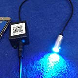 Rayauto 3mm 1 to 1 light source head 12V 1.5W APP Bluetooth WIFI Phone Control RGB Atmosphere LED Light Source Engine illuminator For Side Glow Optic Fiber