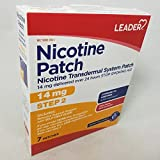 LEADER(TM) Nicotine Transdermal Patch 14Mg 7 ct (Compare to Habitrol)