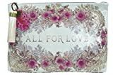 Papaya All For Love Oil Cloth Large Make-up or Accessory Travel Bag