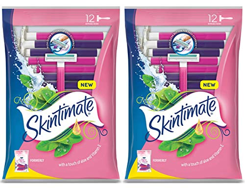 Schick ST2 for Women Sensitive Skin Disposable Razor – 12 ct – 2 pk