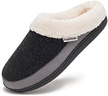 FootTech Womens Indoor Clog House Slippers