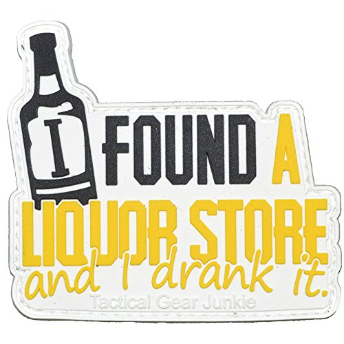 I Found A Liquor Store and I Drank It Castiel Quote PVC Patc