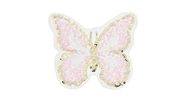 1 parche de lentejuelas con diseño de mariposa para coser en ...
