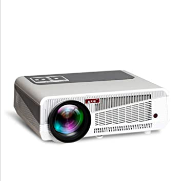 WSBBQ Mini proyector de Oficina, 2800 Lux Full HD 1080P y Pantalla ...