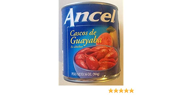 Ancel Cascos De Guayaba / Guava Shells. 34 Oz.: Amazon.com: Grocery & Gourmet Food
