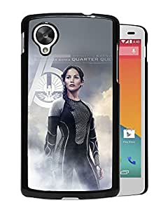 New Custom Designed Cover Case For Google Nexus 5 With He Hunger Game Jennifer Lawrence Sexy Poster Phone Case