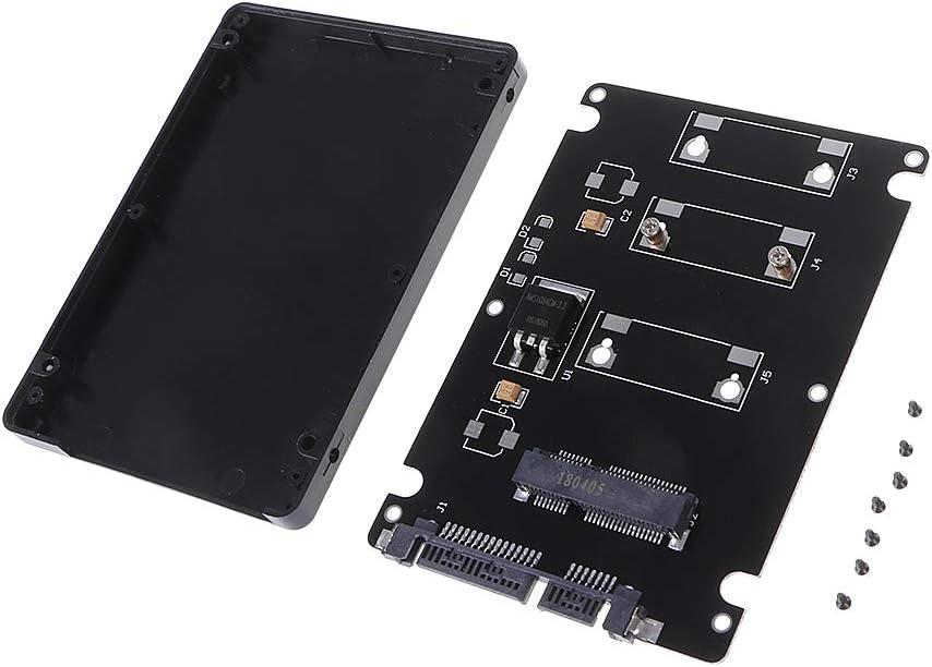 Chg 1PC 7MM Espesor Mini PCI-E SSD mSATA a 2.5