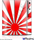 Sony PS3 Skin - Rising Sun Japanese Red