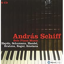 Solo Piano Music of Haydn, Schumann, Handel, Brahms, Reger & Smetana