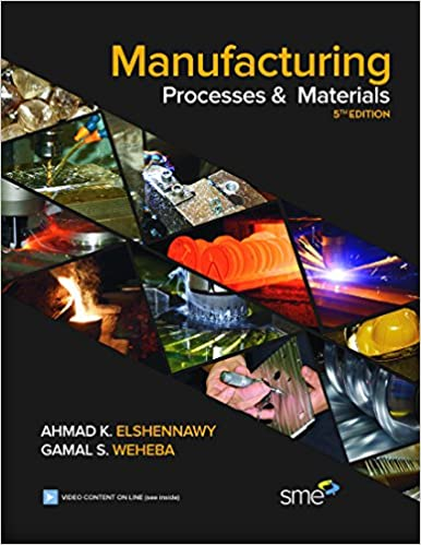 Manufacturing Processes & Materials: Ahmed K  Eishennawy