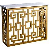 Abbyson Julia MD-M150156-Sof Sofa Table, Gold