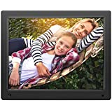 Nixplay 15 inch Wi-Fi Cloud Digital Photo Frame. iPhone & Android App, Email, Facebook, dropbox, Instagram, Picasa - W15A