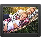 Nixplay Original 15 inch WiFi Cloud Digital Photo Frame. iPhone & Android App, Email, Facebook, dropbox, Instagram, Picasa (W15A)