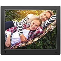 Nixplay Original Digital Photo Frame, 15, Black (W15A)
