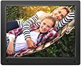 Nixplay Original Digital Photo Frame, 15'', Black (W15A)