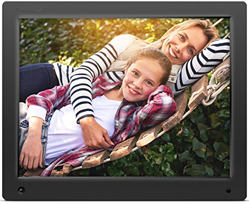 Nixplay Original 15 inch WiFi Cloud Digital Photo Frame. iPhone & Android App, Email, Facebook, dropbox, Instagram, Picasa (W15A) (Digital Picture Frame 15 Inch compare prices)