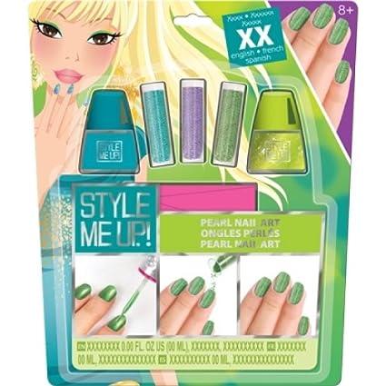 Amazon Com Style Me Up Manicure Set For Girls Kids Nail Polish
