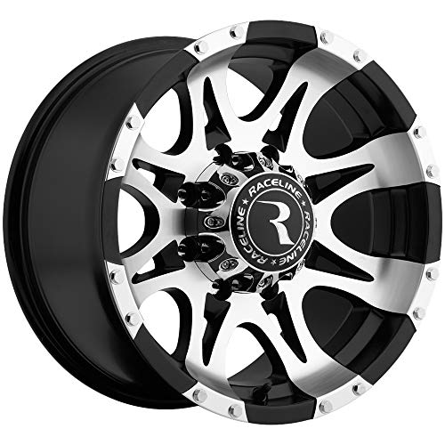 Raceline Raptor 17 Machined Black Wheel / Rim 8x6.5 for sale  Delivered anywhere in USA