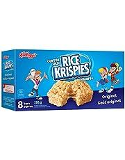 Kellogg's Rice Krispies Square Bars, Original, 8 Cereal Bars 176 Gram