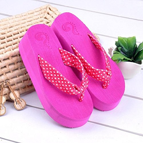 e casual da pantofole Mhgao ciabatte alta moda spiaggia donna sandali 8 BIBwS8q