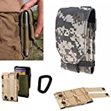 [8 Camo Colors] Arcraft(TM) L size Camo MOLLE Velcro Tactical Bag Pack - With Military 1000D Material