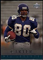 Football NFL 2000 Upper Deck Legends #39 Cris Carter Vikings
