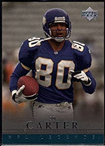Football NFL 2000 Upper Deck Legends #39 Cris Carter Vikings
