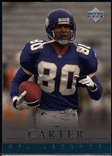 Football NFL 2000 Upper Deck Legends #39 Cris Carter (2000 Upper Deck Legends Card)